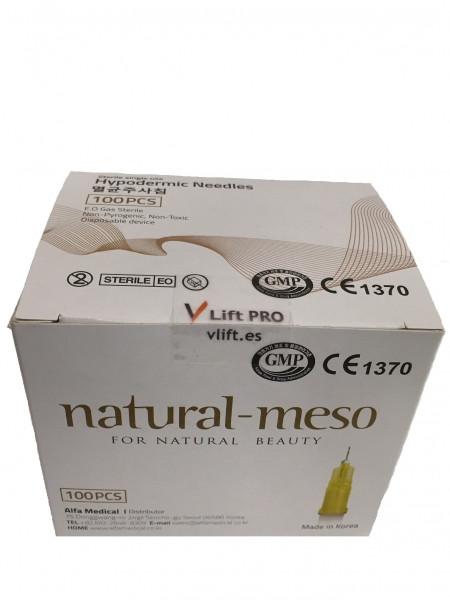 "Natural-Meso ""Test-Set"" Kanülen 33 G 0,2 x 4 mm, (10 Kanülen im Beutel) ETW=extra thin wall/ nano"