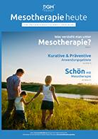 """Die Patientenzeitschrift der DGM: """"Mesotherapie heute"""" 10 Exemplare"""