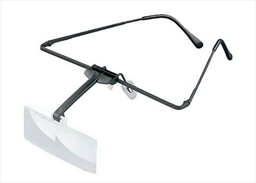 2 Lupen-Brille, binokular 1,7x/ 2,5 dpt (Made in Germany)